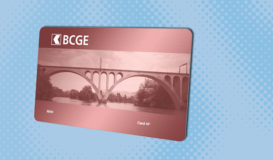 BCGE paying-in card