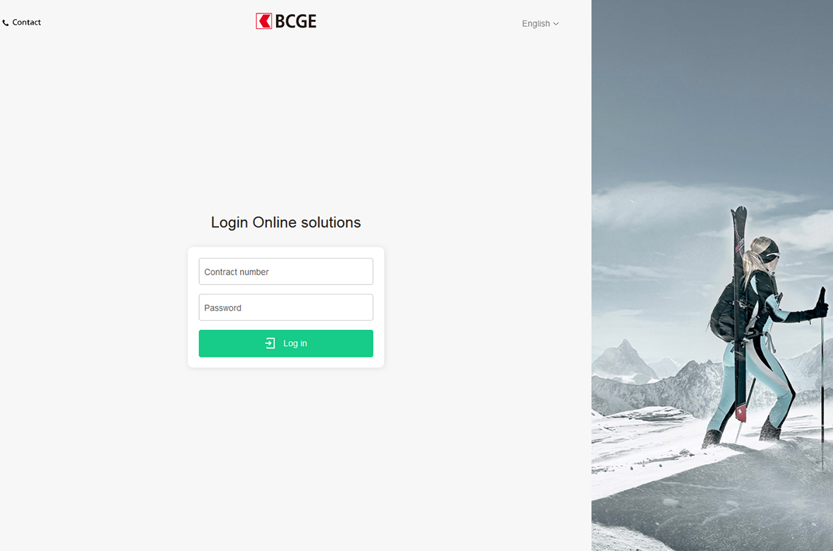 The login pages of Online Solutions get a new look!